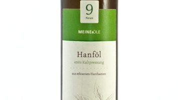 hochwertiges kaltgepresstes Hanföl von meineöle.de
